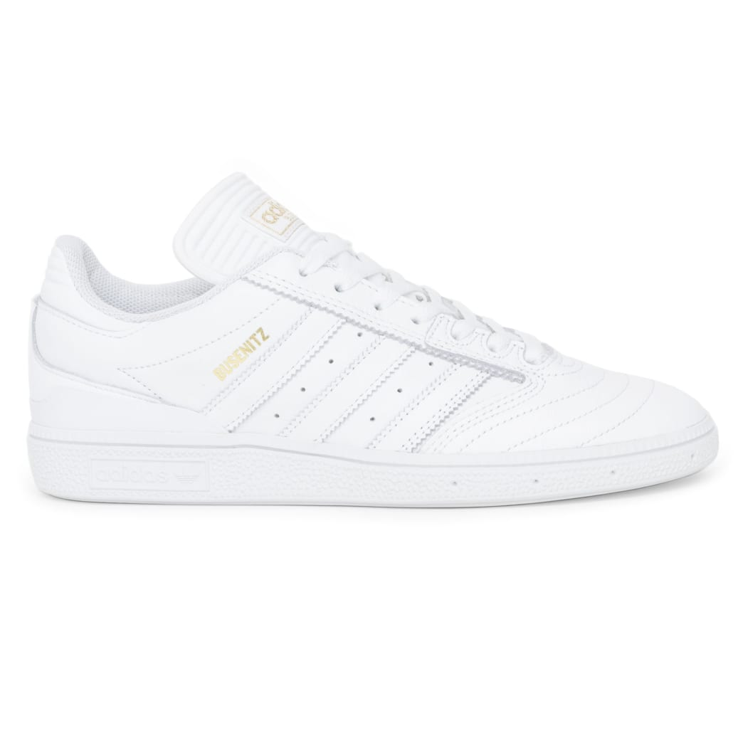 Adidas Busenitz Shoes - FTW White/Gold/FTW White | Shoes by adidas Skateboarding 2