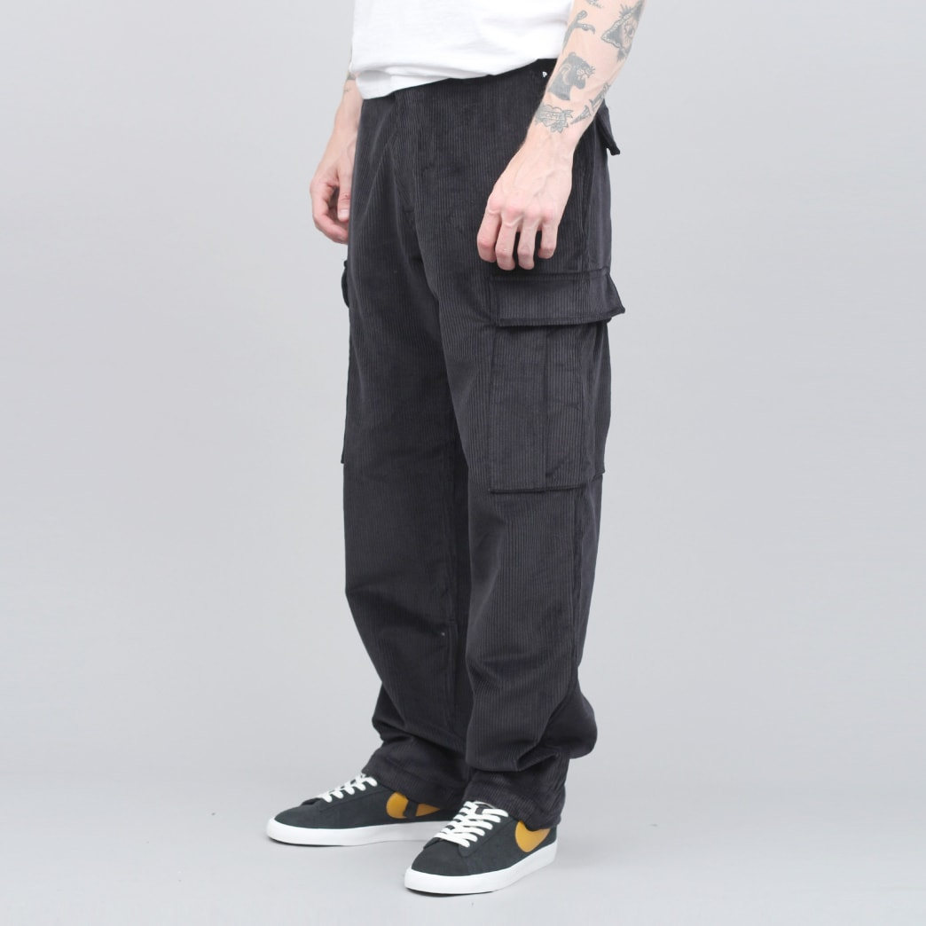 Pop Trading Cargo Pants Black Cord   Jeans by Pop Trading Company 1