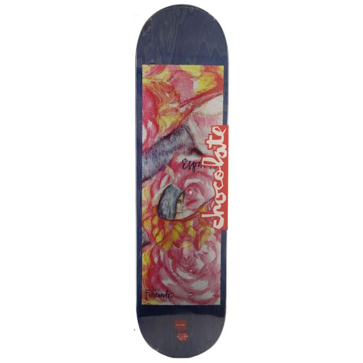 Chocolate Skateboards Espana One Off Jesus Fernandez Skateboard Deck - 8.00 | Deck by Chocolate Skateboards 1