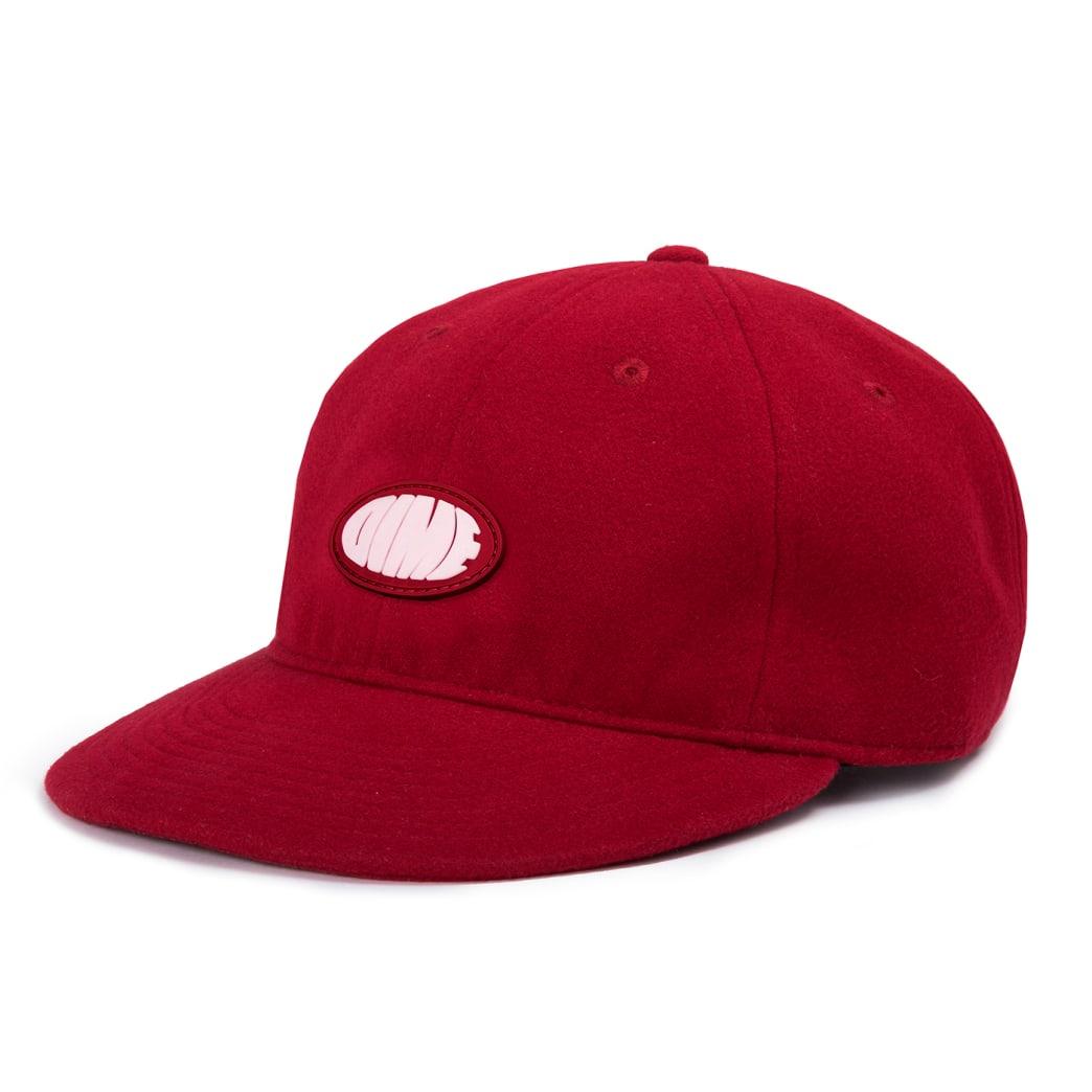 Dime Polar Fleece Cap - Red   Baseball Cap by Dime MTL 1