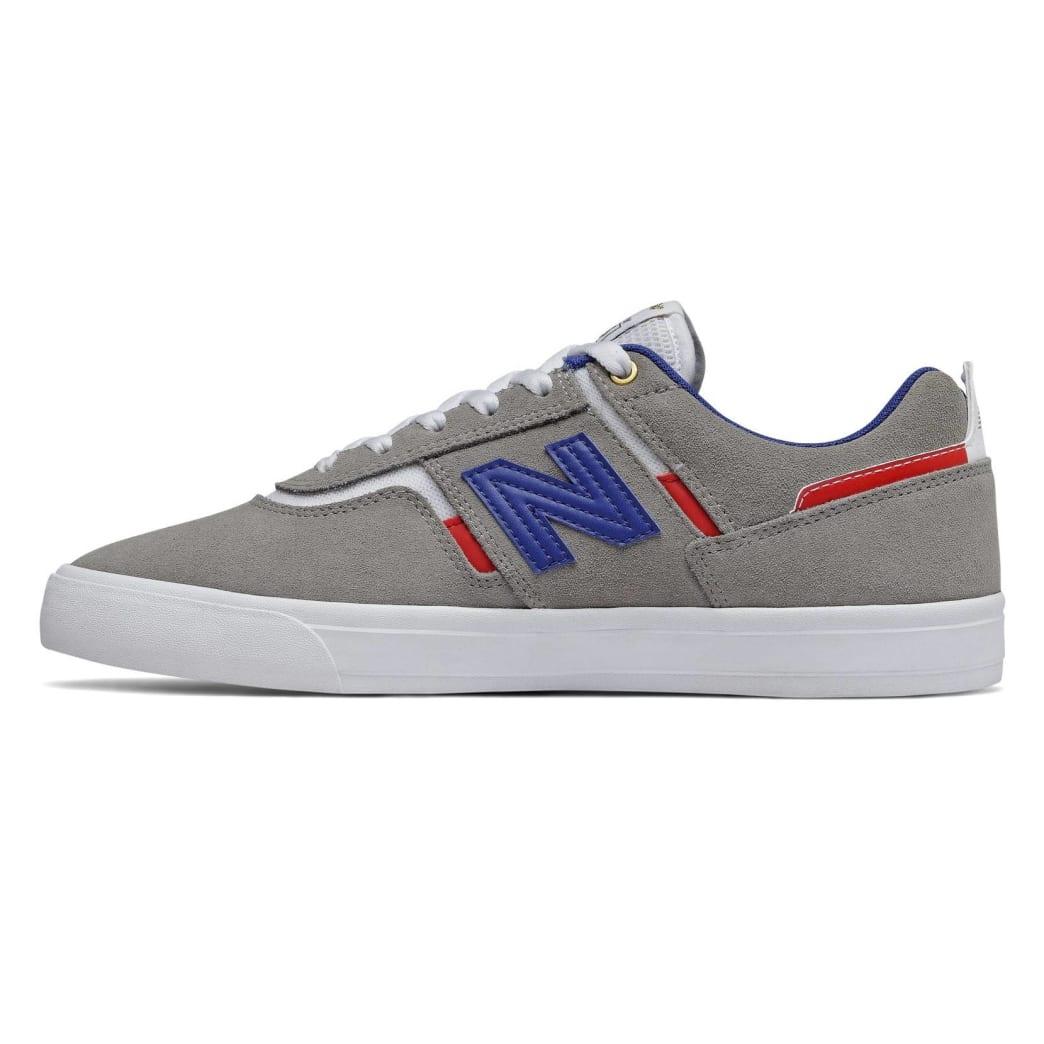 New Balance Numeric 306 Skate Shoe - Grey / Blue   Shoes by New Balance 2