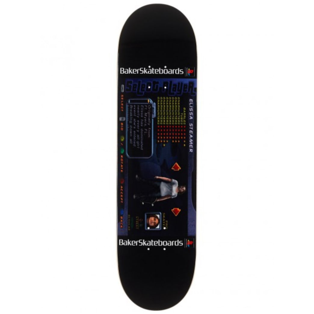Baker Skateboards Elissa Steamer THPS Player Select Deck - 8.25 | Deck by Deathwish 1