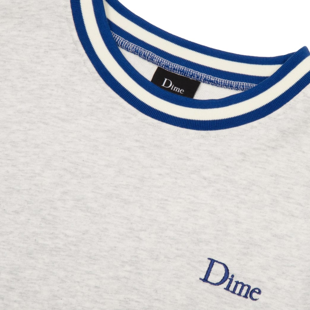 Dime Classic French Terry Crewneck - Ash   Sweatshirt by Dime MTL 2