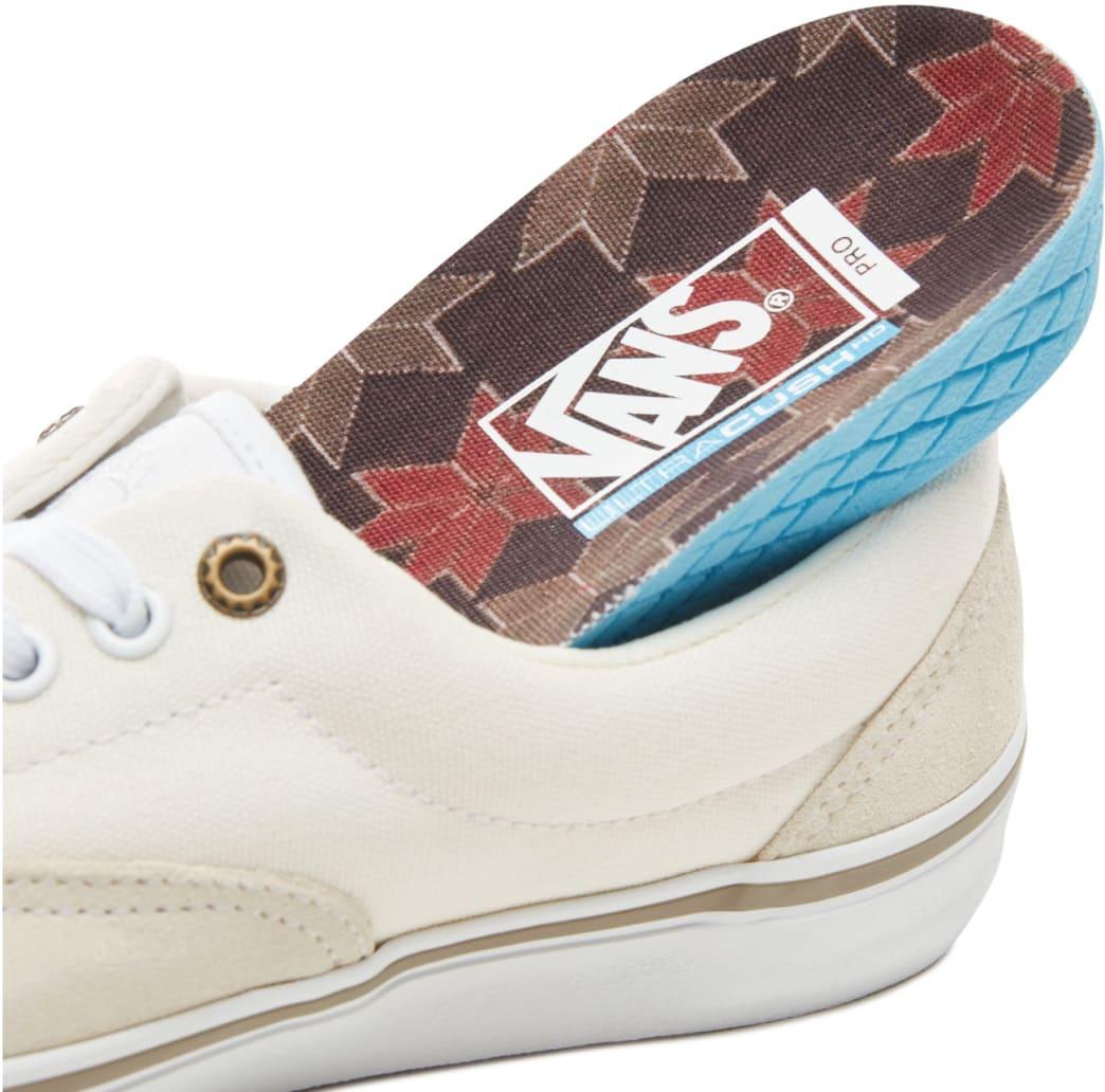 Vans Roche Era Pro Shoes - Marshmallow / White   Shoes by Vans 3