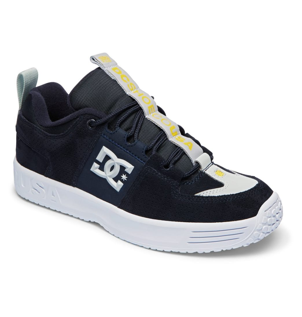 DC Shoes Lynx OG x In4mation Skate Shoes - Dark Navy | Shoes by DC Shoes 2