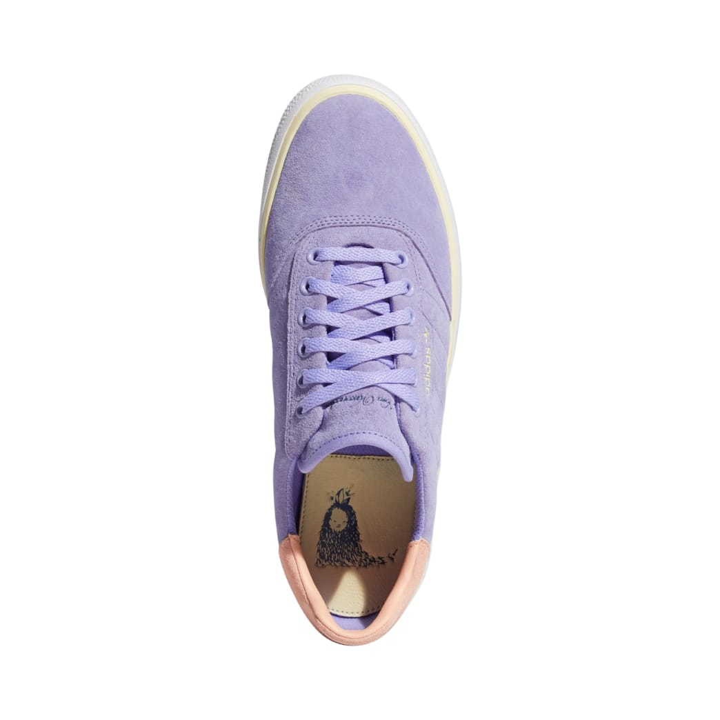 adidas Nora Vasconcellos 3MC Skateboarding Shoe - Light Purple/Mist Sun/Mist Sun | Shoes by adidas Skateboarding 4