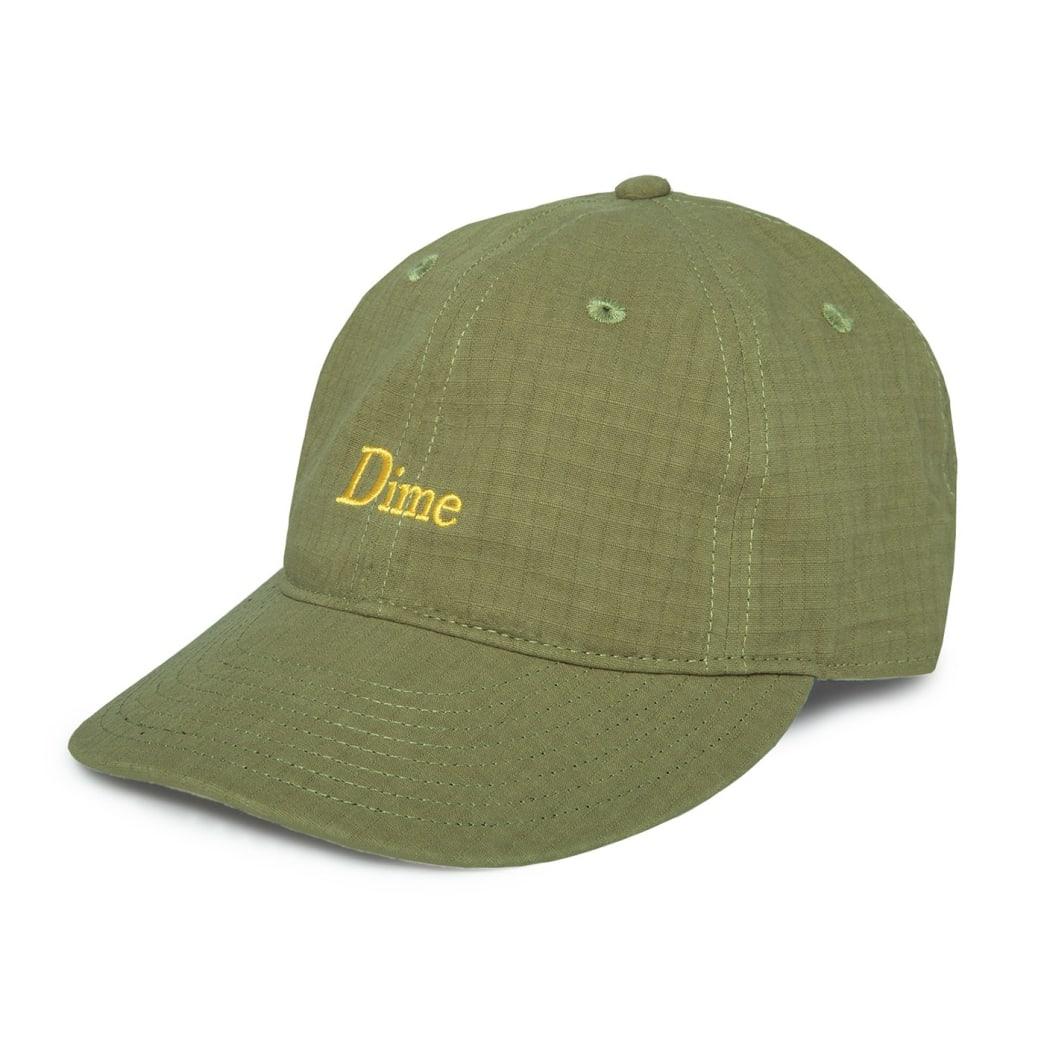 Dime Classic Logo Hat - Military Green | Baseball Cap by Dime MTL 1