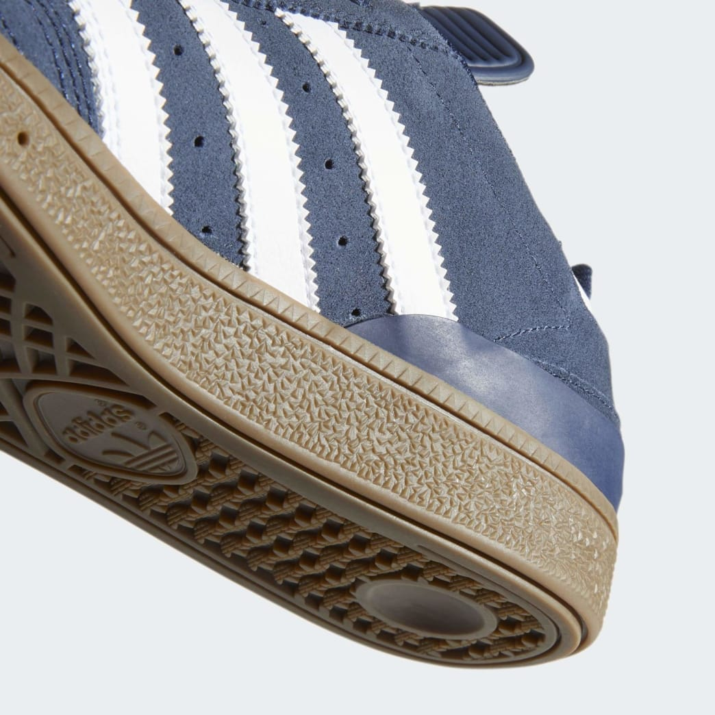 Adidas Busenitz Shoes - Collegiate Navy/Cloud White/Gum 5 | Shoes by adidas Skateboarding 9