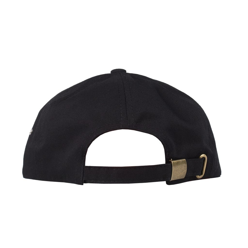 Rip N Dip Lord Nermal 6 Panel Pocket Hat - Black | Panel Hat by Ripndip 3