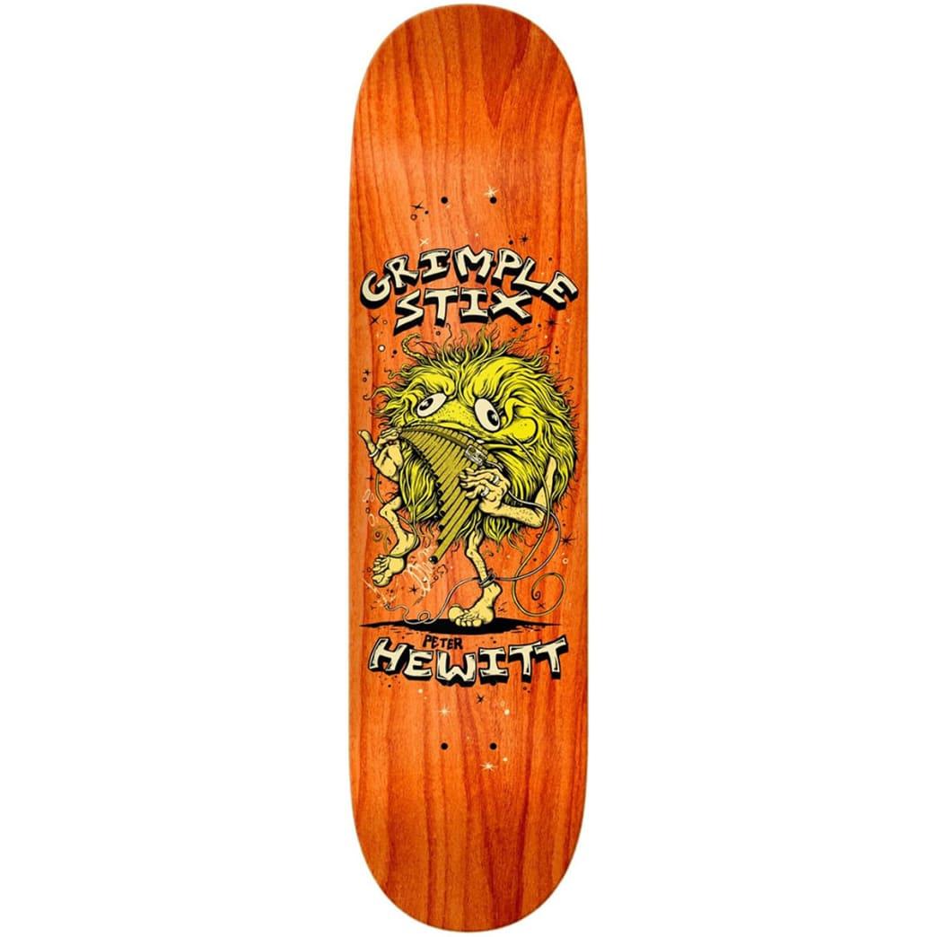 Antihero Hewitt Grimple Family Band 8.62 | Deck by Antihero Skateboards 1