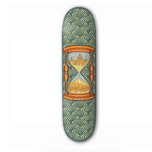 "The Drawing Boards - 8.25"" Time Skateboard Deck 