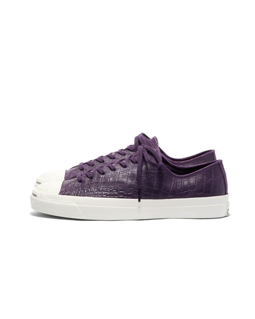 Converse CONS x Pop Trading Company JP Pro Ox Shoes - Dark Purple 'Dragonskin' | Shoes by Converse Cons 1