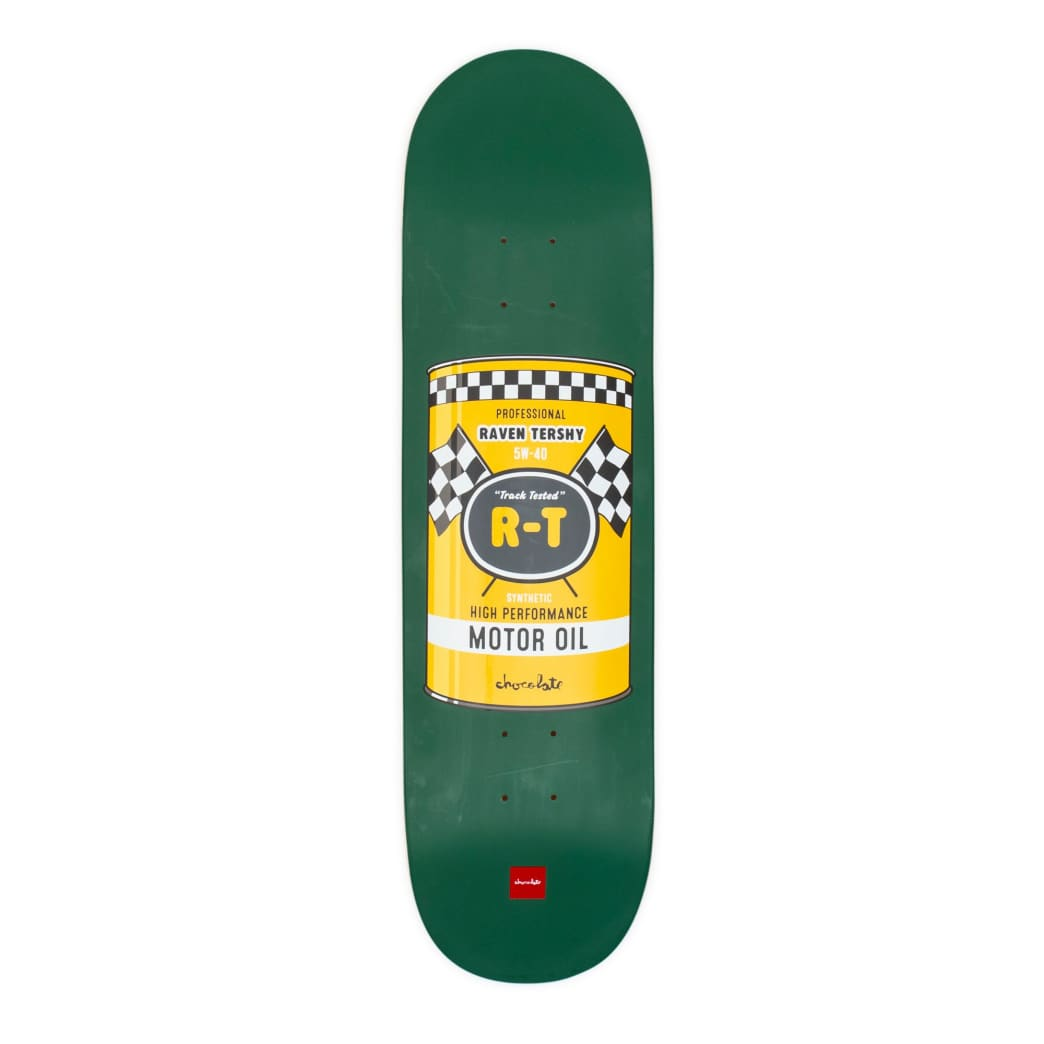 """Chocolate Hecox Essentials Raven Tershy Deck - 8.5"""" 