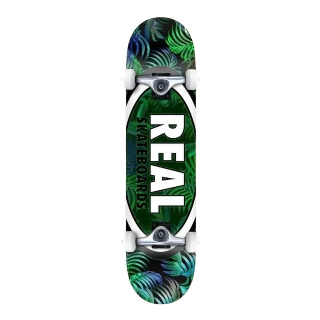 "Real Tropic Ovals II 7.5"" Complete Skateboard | Complete Skateboard by Real Skateboards 1"