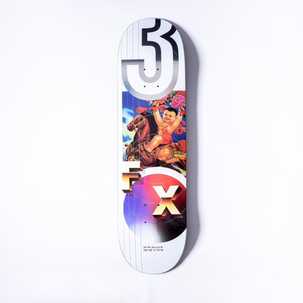 303 Boards - CLFX Flower Baby Deck (Multiple Sizes) | Deck by 303 Boards 1
