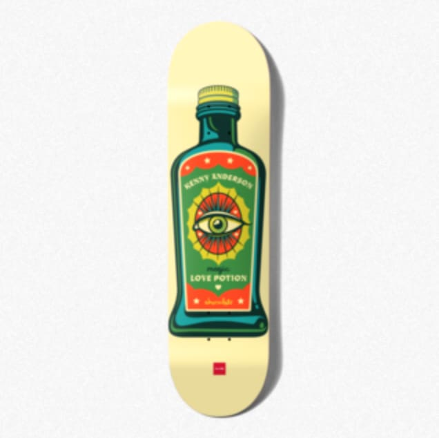 Hecox Essentials (Kenny Anderson) Deck   Deck by Chocolate Skateboards 2