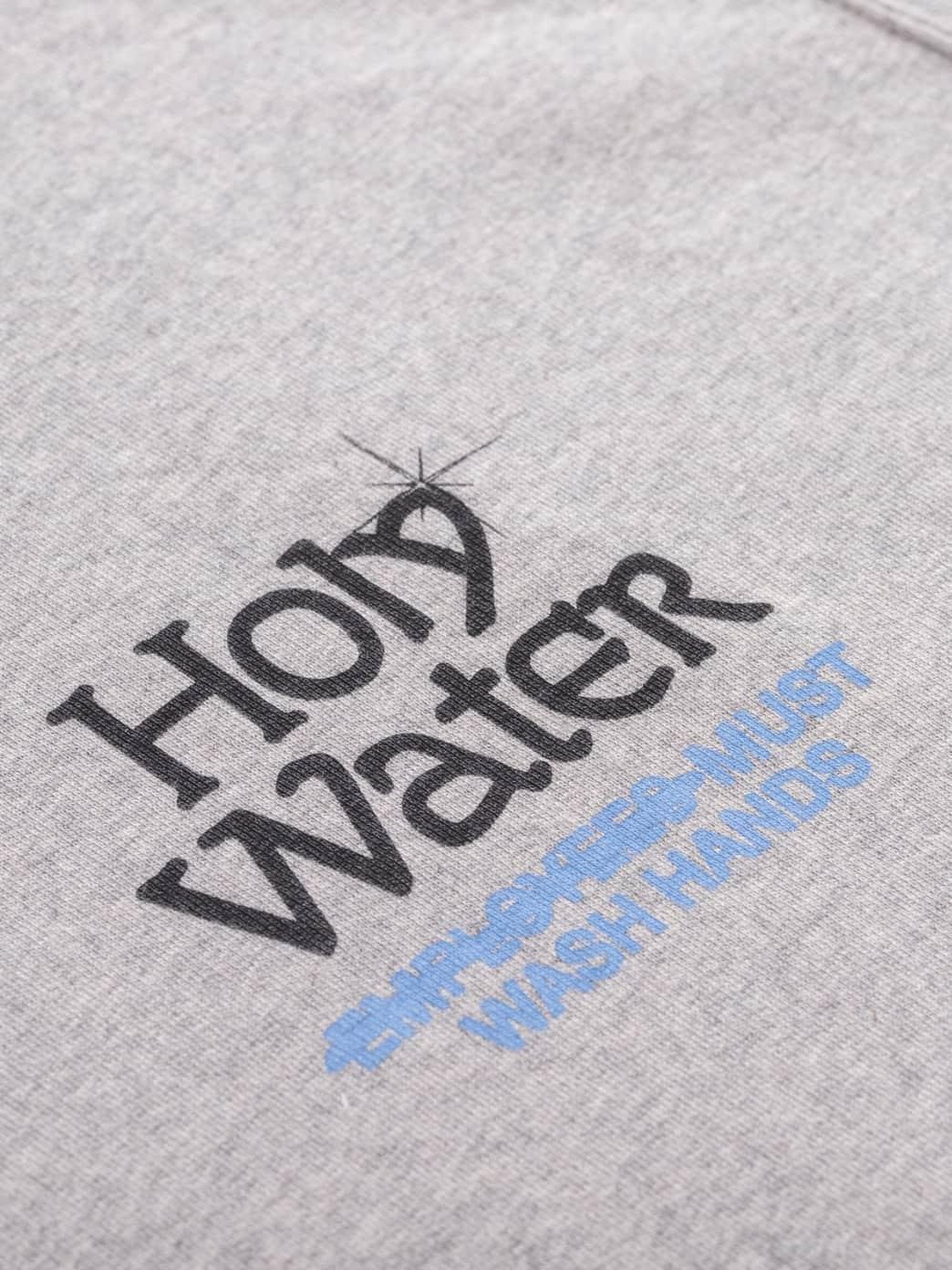 Reception Club Holy Water Sweatshirt - Grey | Sweatshirt by Reception Clothing 2