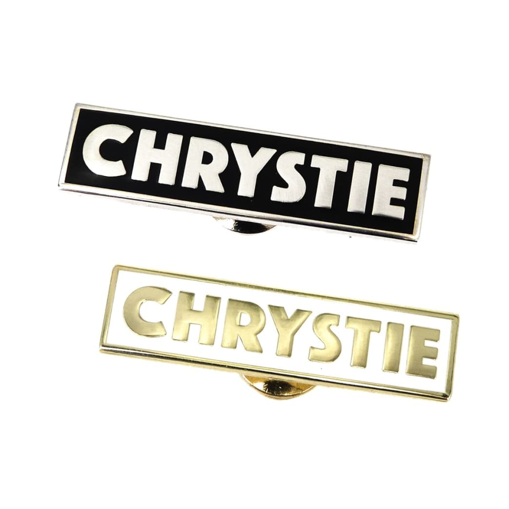 Chrystie NYC - OG Logo Pin Set | Pin Badge by Chrystie NYC 1