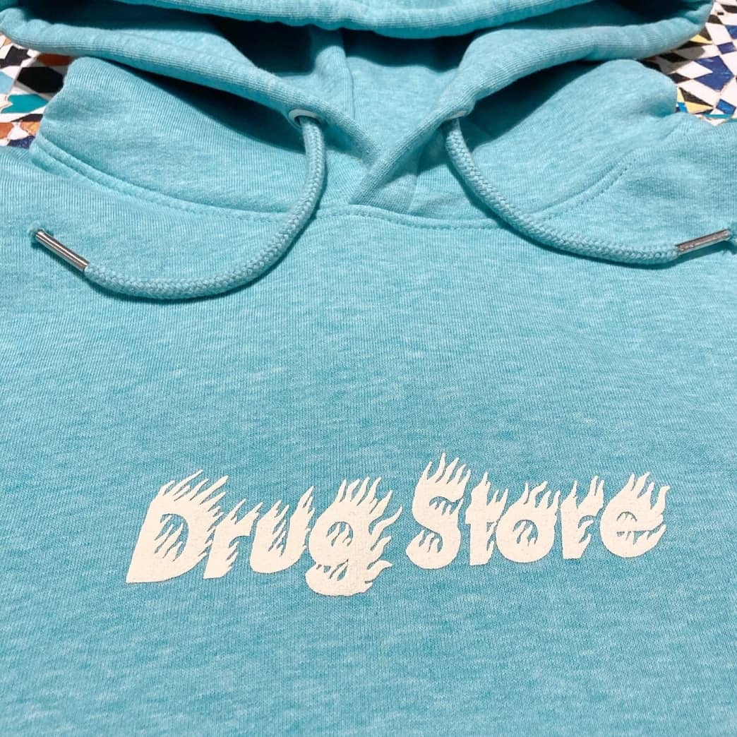 DRUG STORE HOT! logo hood Soap Green | Hoodie by Drug Store 2