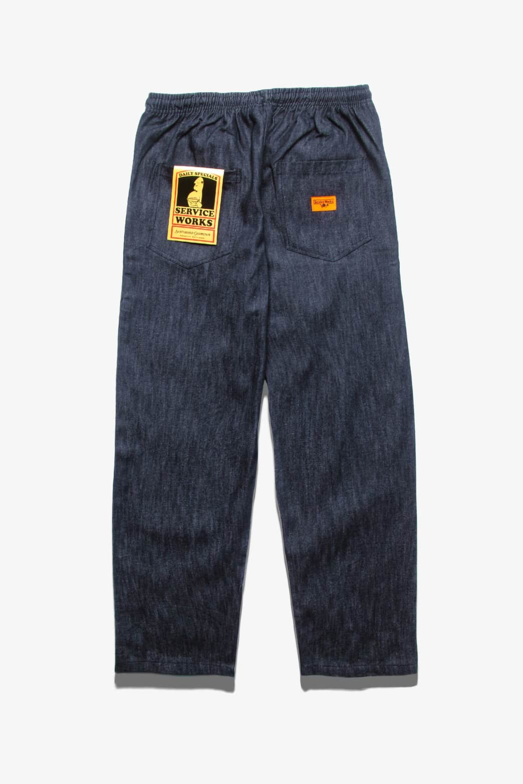 Service Works - Classic Chef Pants - Indigo Denim   Trousers by Service Works 1