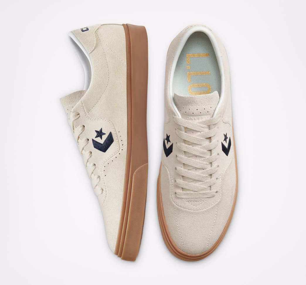Converse CONS Louie Lopez Pro Ox Skate Shoes - Egret / Obsidian / Gum | Shoes by Converse Cons 3