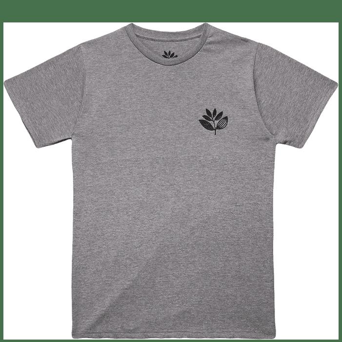 Magenta Skateboards Plant T-Shirt - Heather Grey | T-Shirt by Magenta Skateboards 1