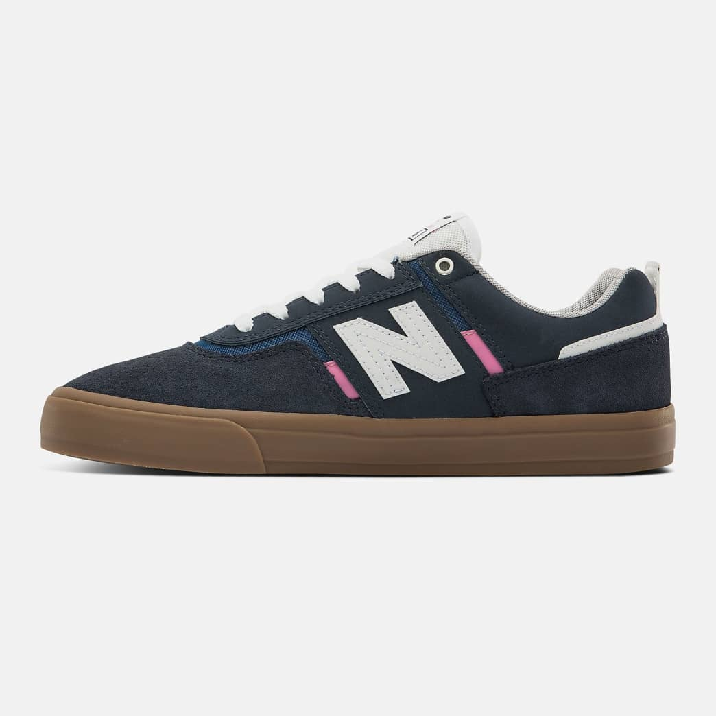 New Balance Numeric 306 Shoes - Navy / Pink | Shoes by New Balance 3