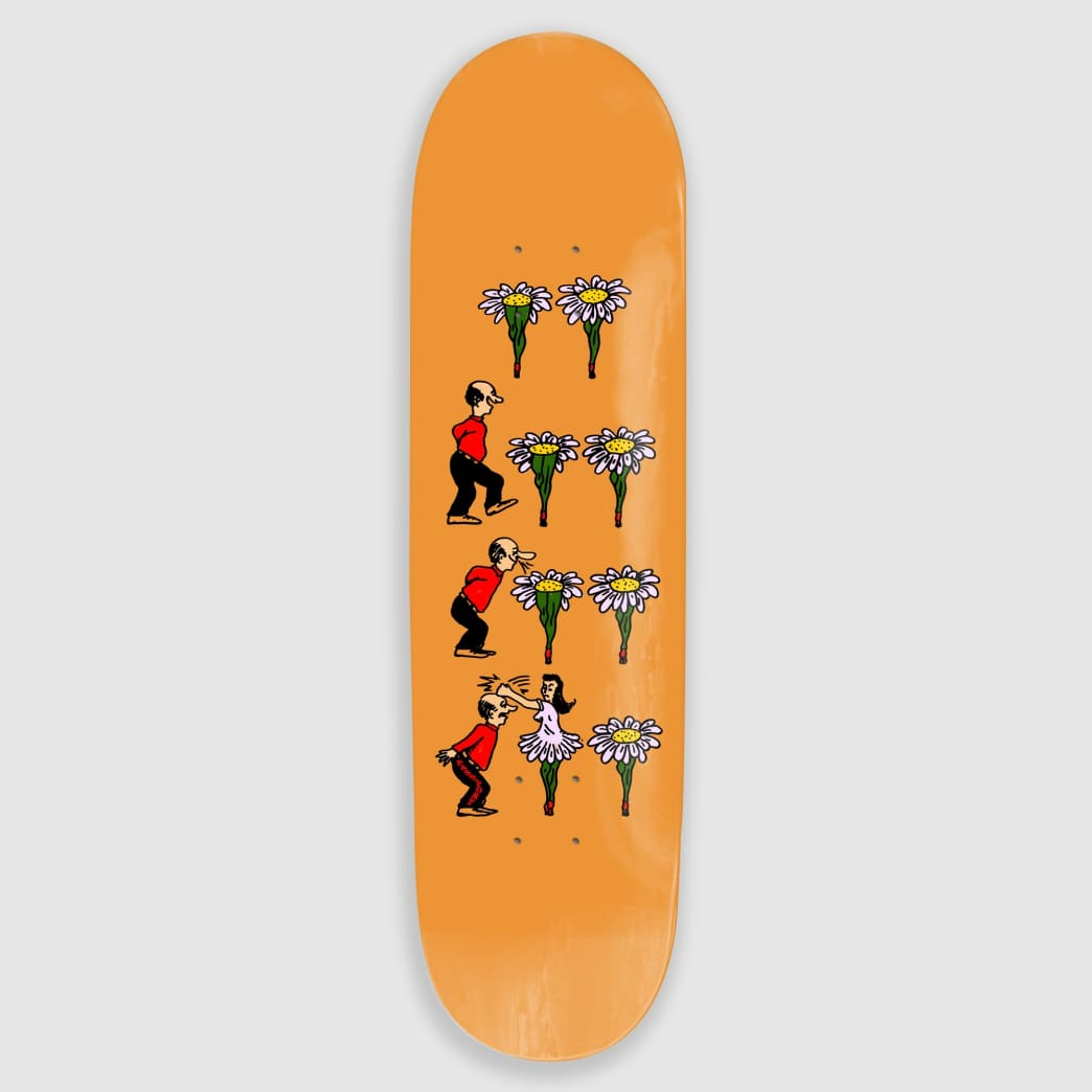 """Pass Port Skateboards - 8.38"""" What U Thought Flowers Skateboard Deck   Deck by Pass~Port Skateboards 1"""