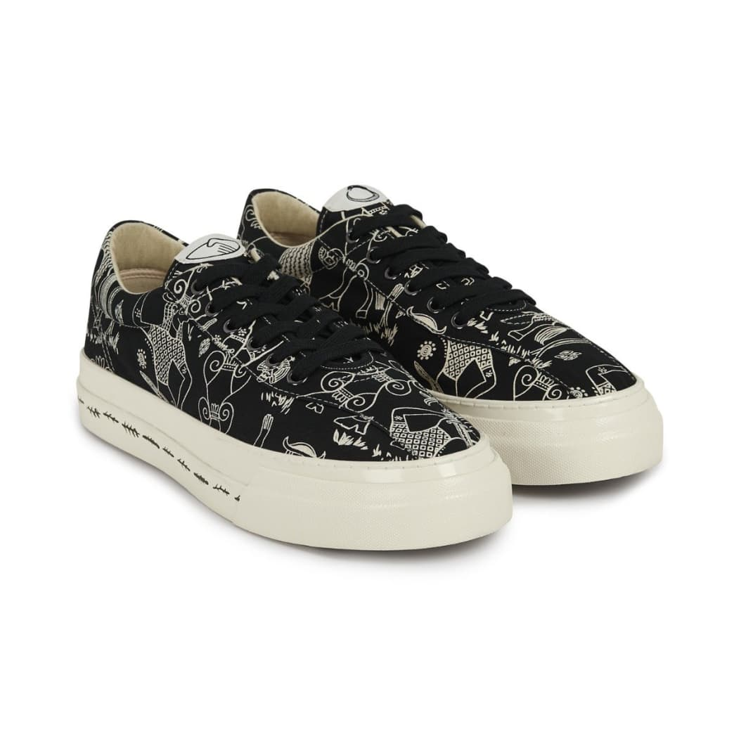 Stepney Workers Club x Endless Joy Dellow Mens Canvas Shoes - Gorgon | Shoes by Stepney Workers Club 2
