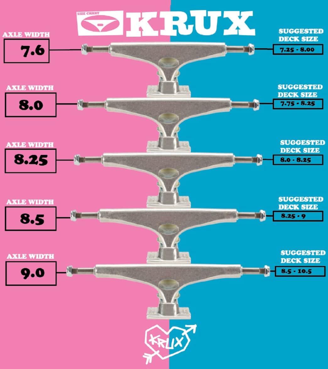 Krux Trucks K5 Polished Standard 8.5 | Trucks by Krux Trucks 4