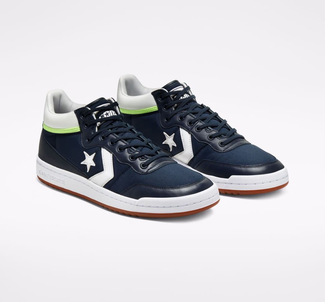 Converse CONS Fastbreak Pro Skate Shoes - Obsidian / White / Ghost Green | Shoes by Converse Cons 4