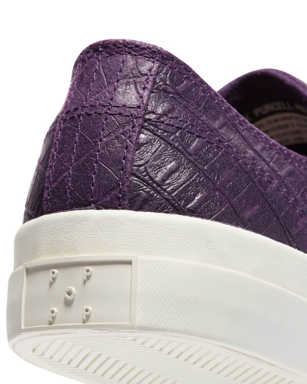 Converse CONS x Pop Trading Company JP Pro Ox Shoes - Dark Purple 'Dragonskin' | Shoes by Converse Cons 6
