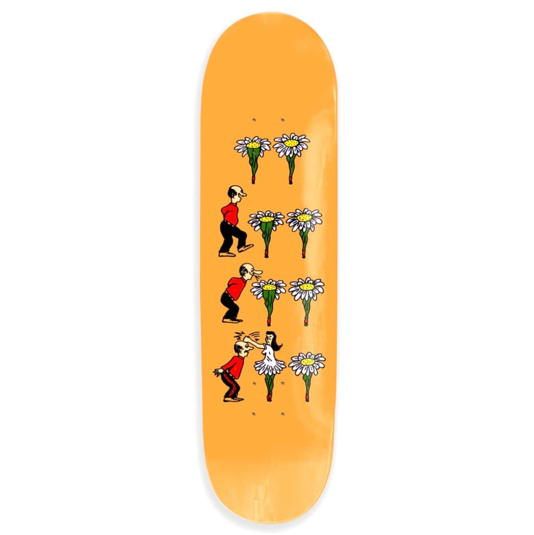 What U Thought Series (Flowers) Deck | Deck by Pass~Port Skateboards 1