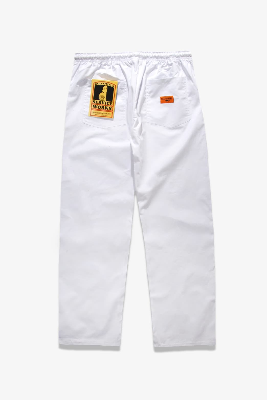 Service Works - Trade Chef Pants - White | Trousers by Service Works 1