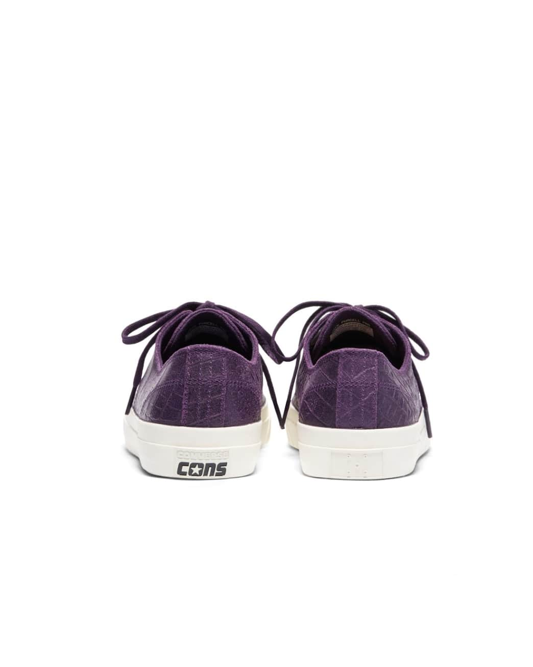 Converse CONS x Pop Trading Company JP Pro Ox Shoes - Dark Purple 'Dragonskin' | Shoes by Converse Cons 4