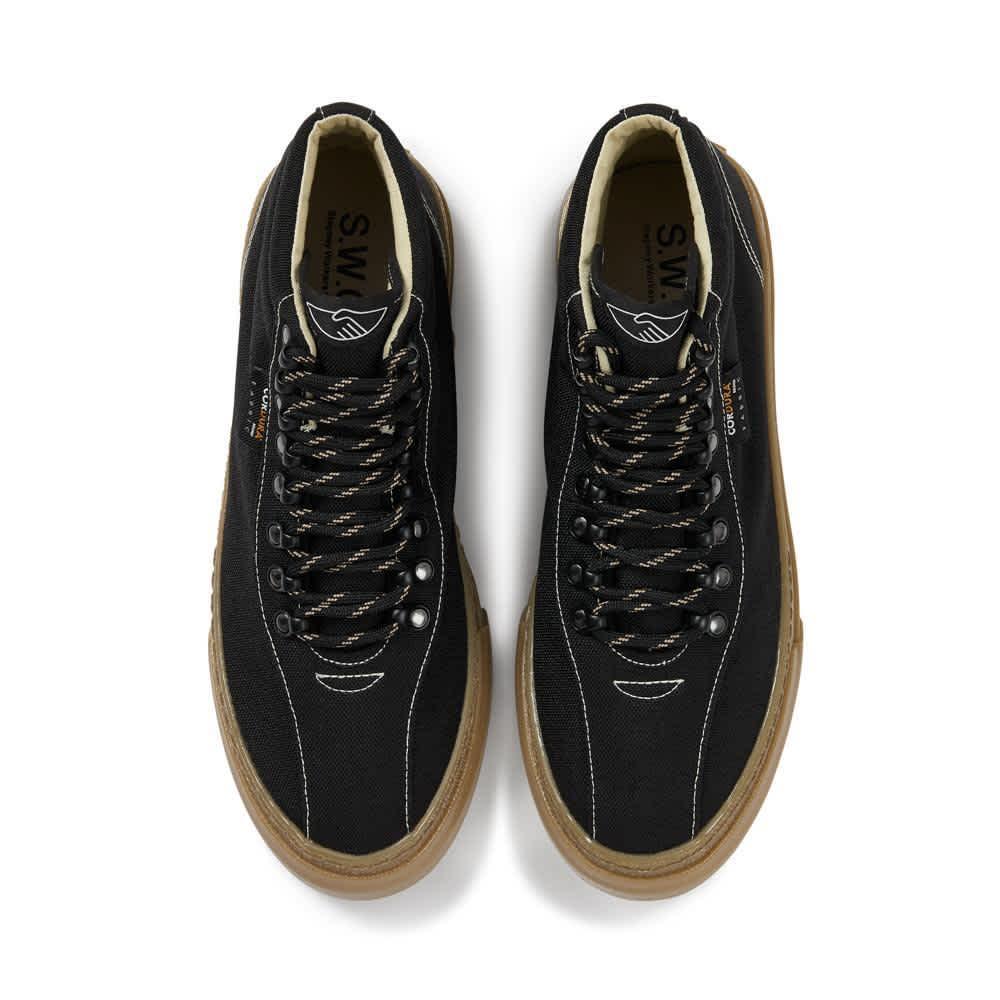 Stepney Workers Club Varden Mens Cordura Shoes - Black | Shoes by Stepney Workers Club 3