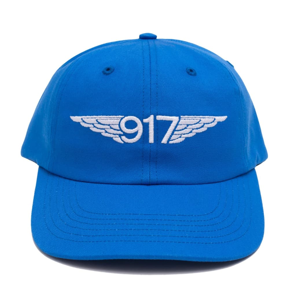 Call Me 917 Team Wings Hat - Navy | Snapback Cap by Call Me 917 1