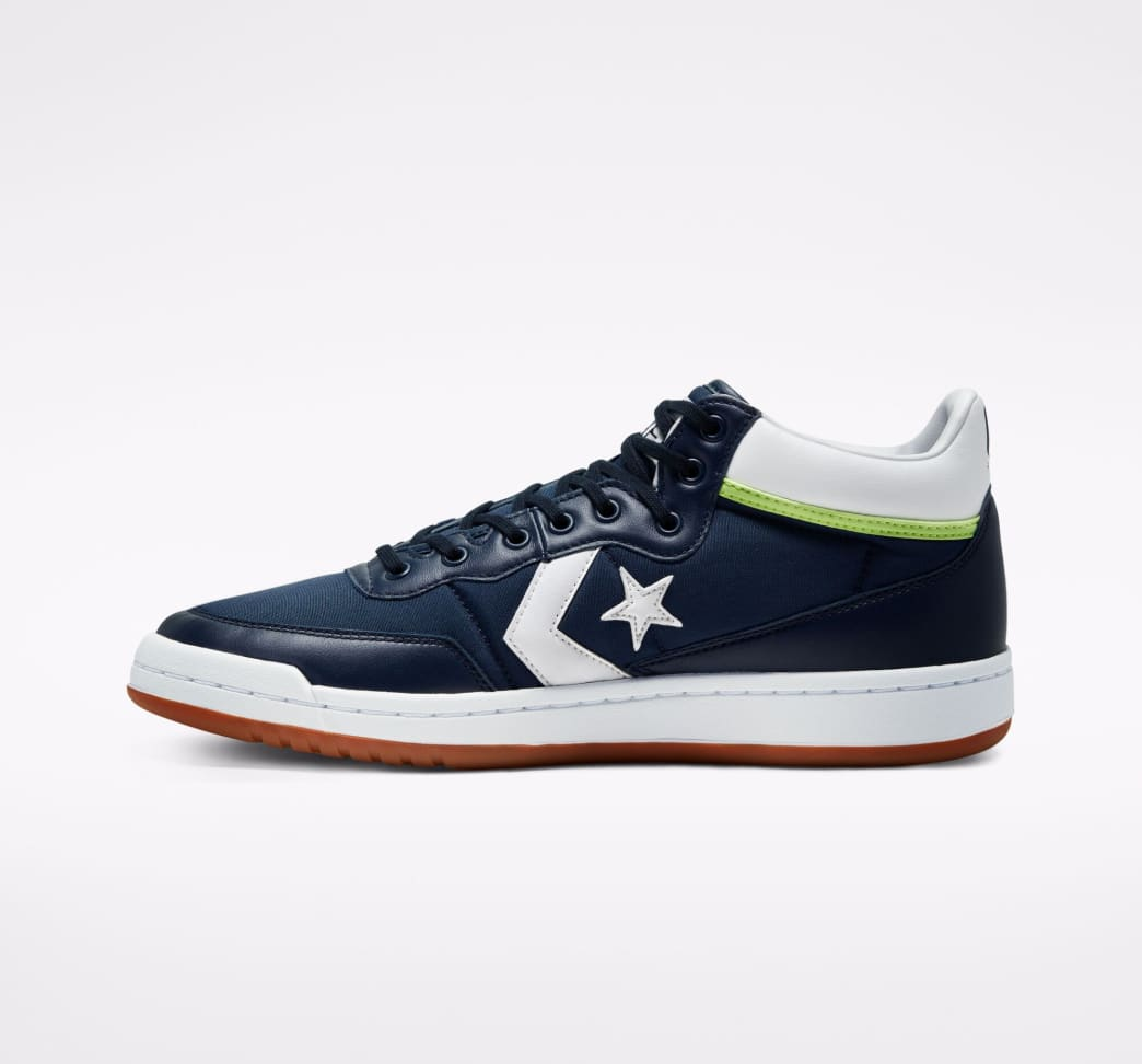 Converse CONS Fastbreak Pro Skate Shoes - Obsidian / White / Ghost Green | Shoes by Converse Cons 2