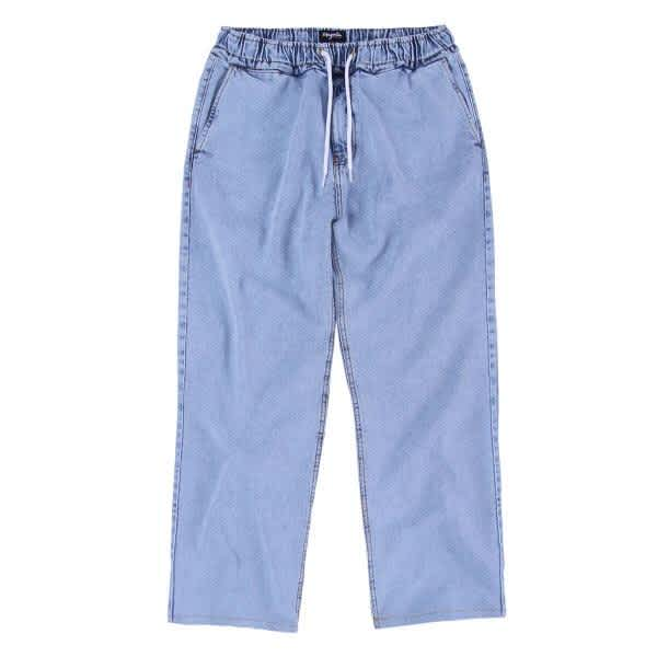 Magenta Climbing Pant Baggy Light Blue Denim | Trousers by Magenta Skateboards 1