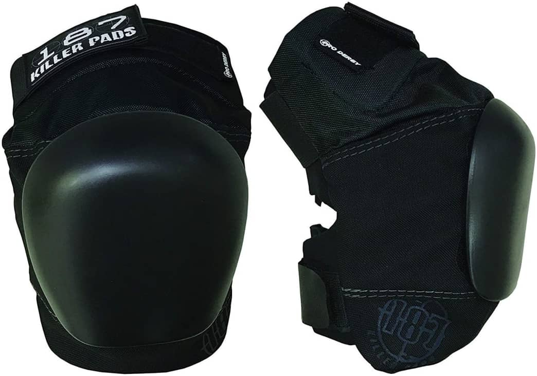 187 Killer Pads Pro Derby Knee Black | Pads by 187 Killer Pads 1