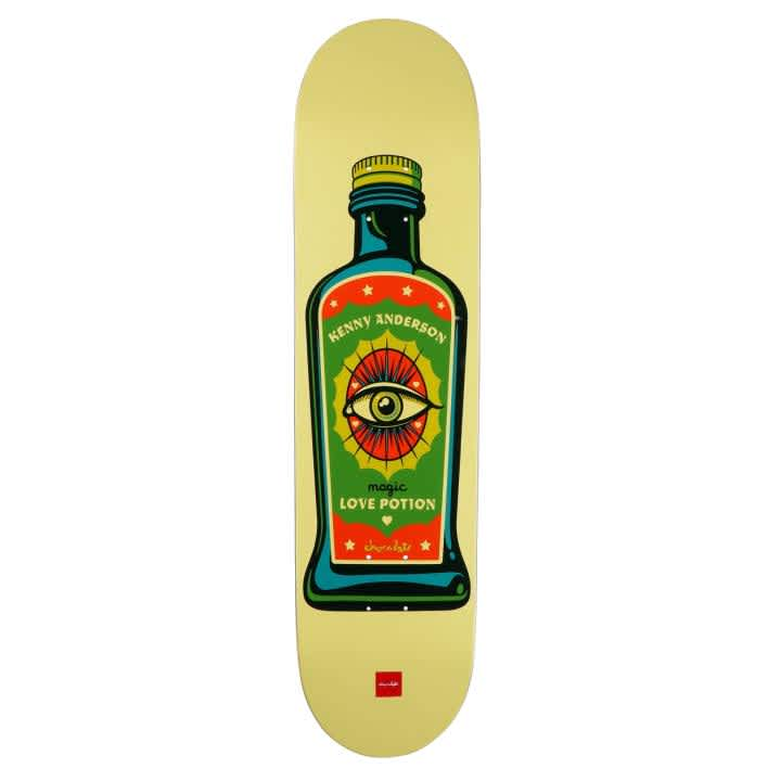 Chocolate Skateboards Hecox Essentials Kenny Anderson Skateboard Deck - 8.25 | Deck by Chocolate Skateboards 1