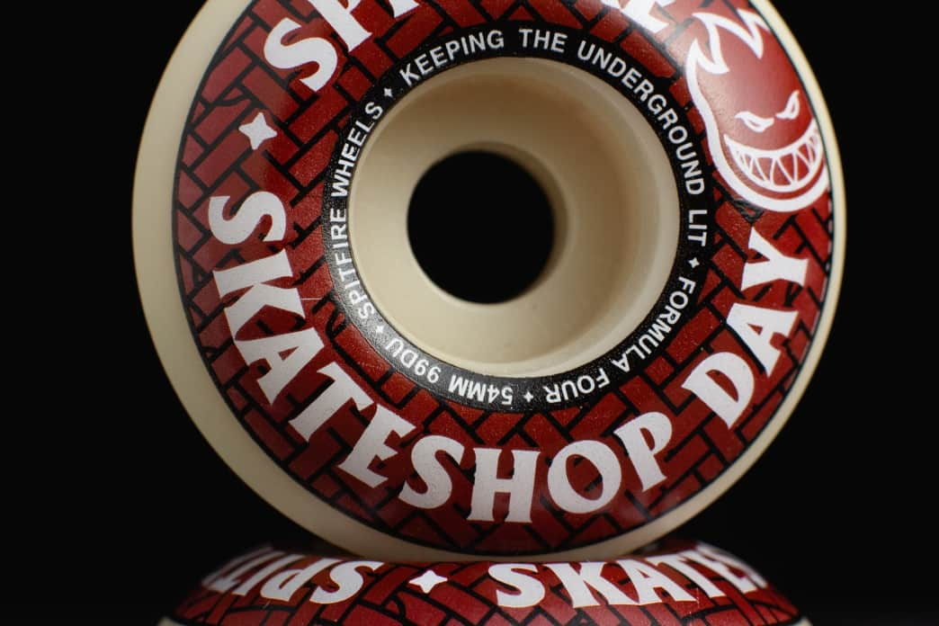 Spitfire Formula Four Classic Skateshop Day Wheels - 54mm | Wheels by Spitfire Wheels 2