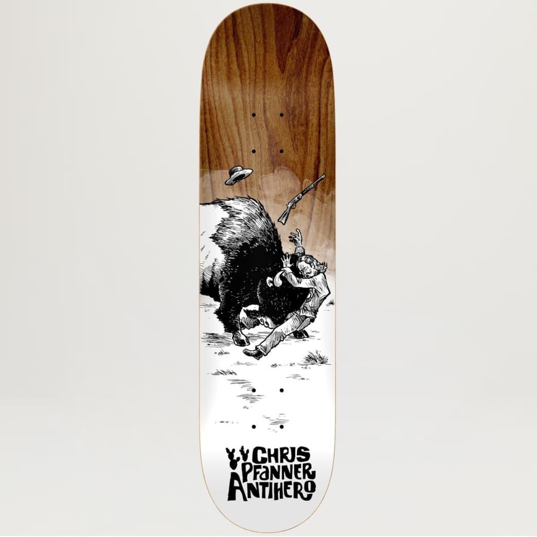 Anti-Hero Chris Pfanner How the West Wasn't Won 8.06 | Deck by Antihero Skateboards 1