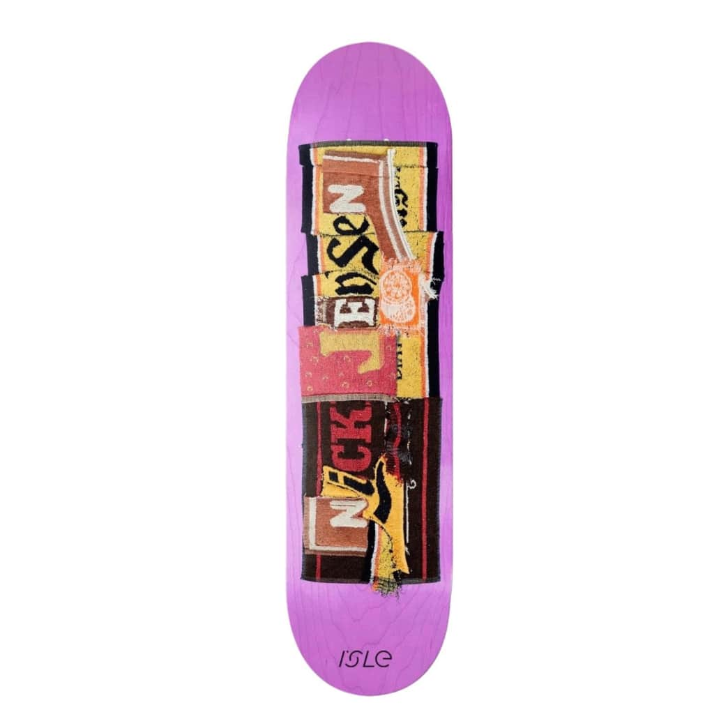 "Isle Pub Series Nick Jensen 8.0"" Skateboard Deck | Deck by Isle Skateboards 1"