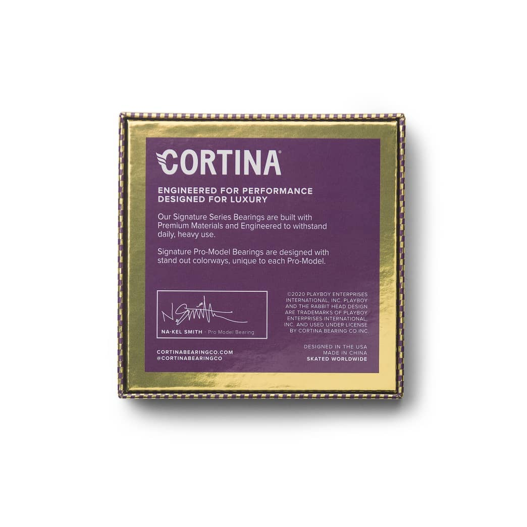 Cortina Bearing Co - Na-kel Smith Signature PlayBoy Bearings | Bearings by Cortina Bearing Co 5