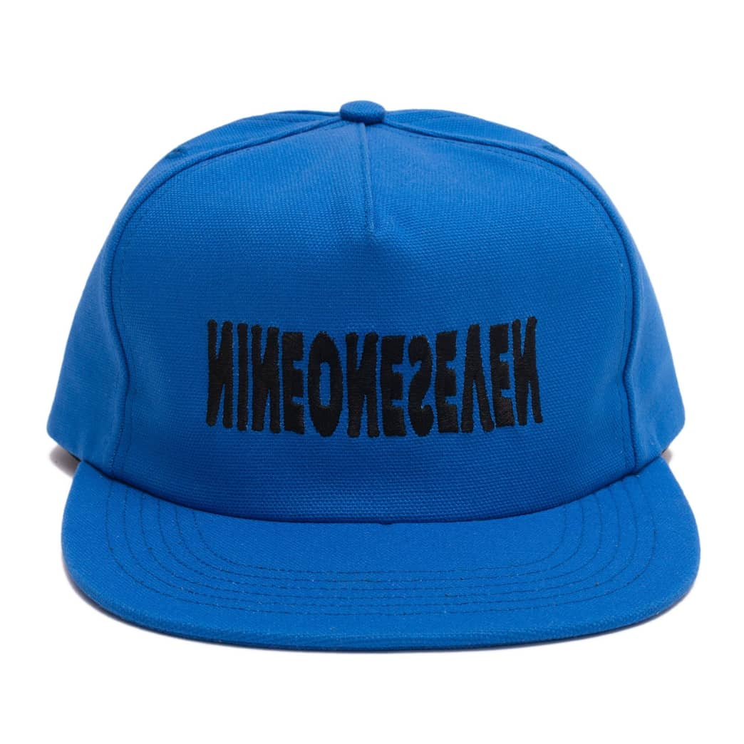 Call Me 917 Cyber Logotype Hat - Royal   Snapback Cap by Call Me 917 2
