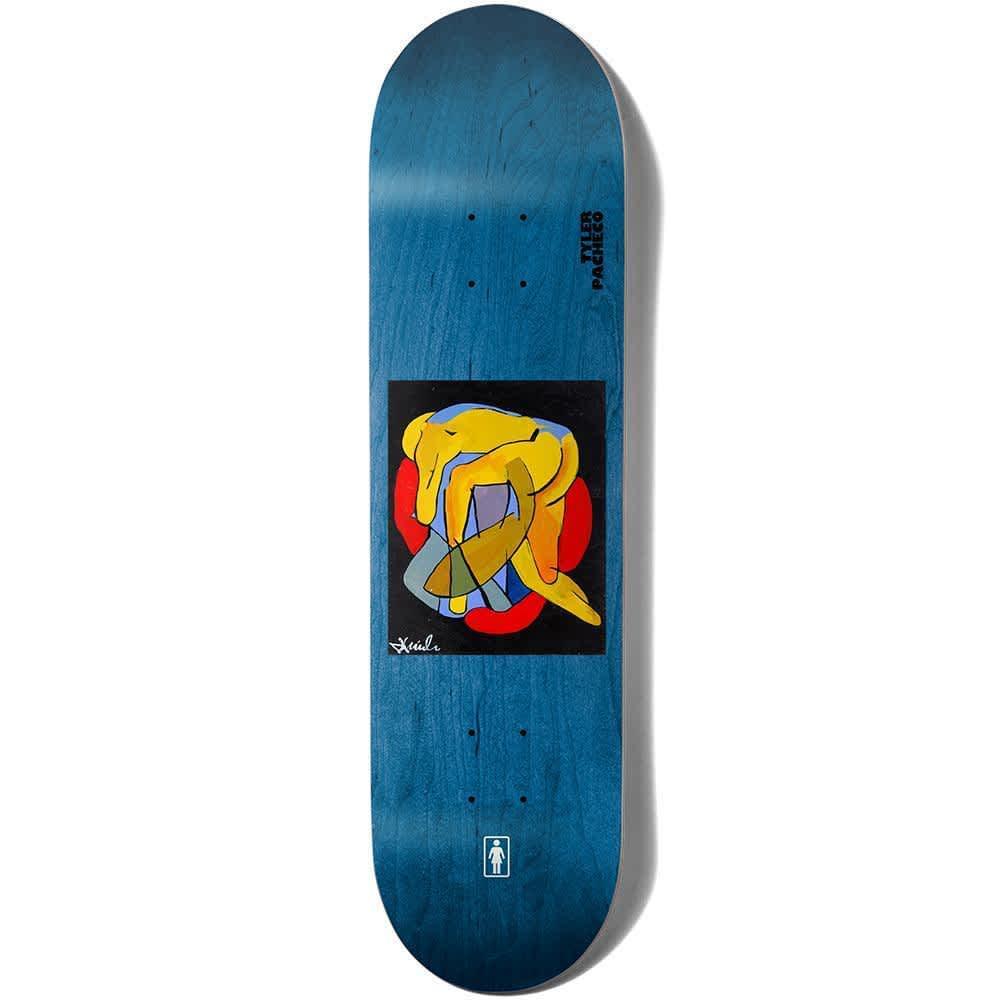 "Girl Pacheco Tangled Skateboard Deck - 8.375"" | Deck by Girl Skateboards 1"