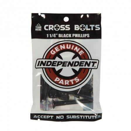 Independent Hardware Black 1 1/4"