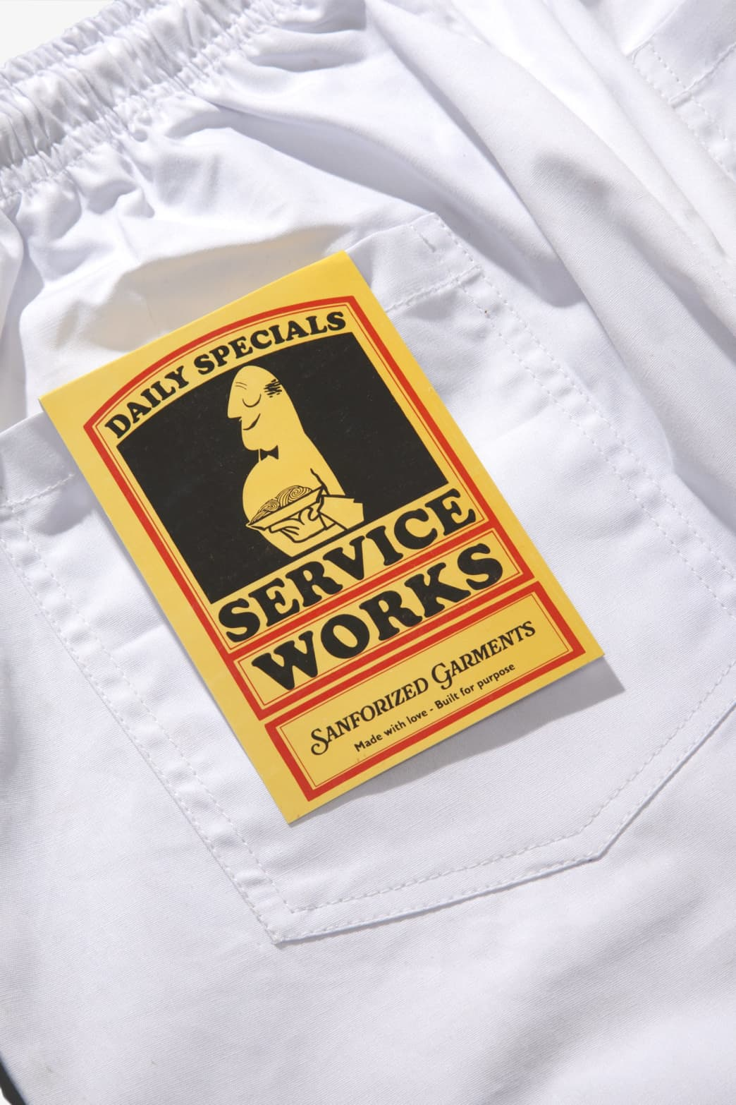 Service Works - Trade Chef Pants - White | Trousers by Service Works 6