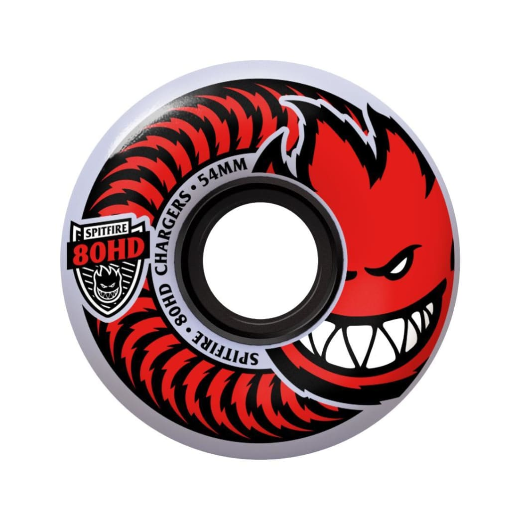 Spitfire 80HD 58mm Clear/Red Classic Shape   Wheels by Spitfire Wheels 1